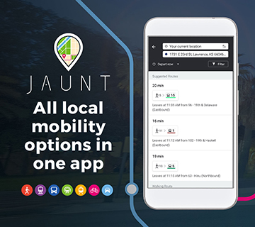 JAUNT / All local mobility options in one app